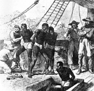 Symbole de l'amitié - Esclavage