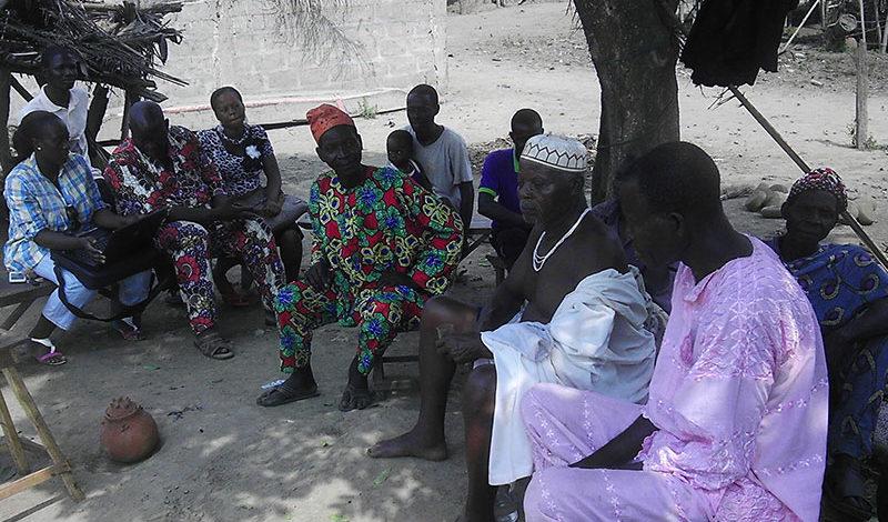 Symbole de l'amitié - Nouveau Port Bénin