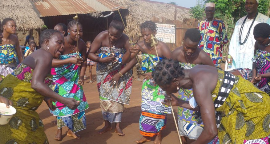 Symbole de l'amitié - Bénin