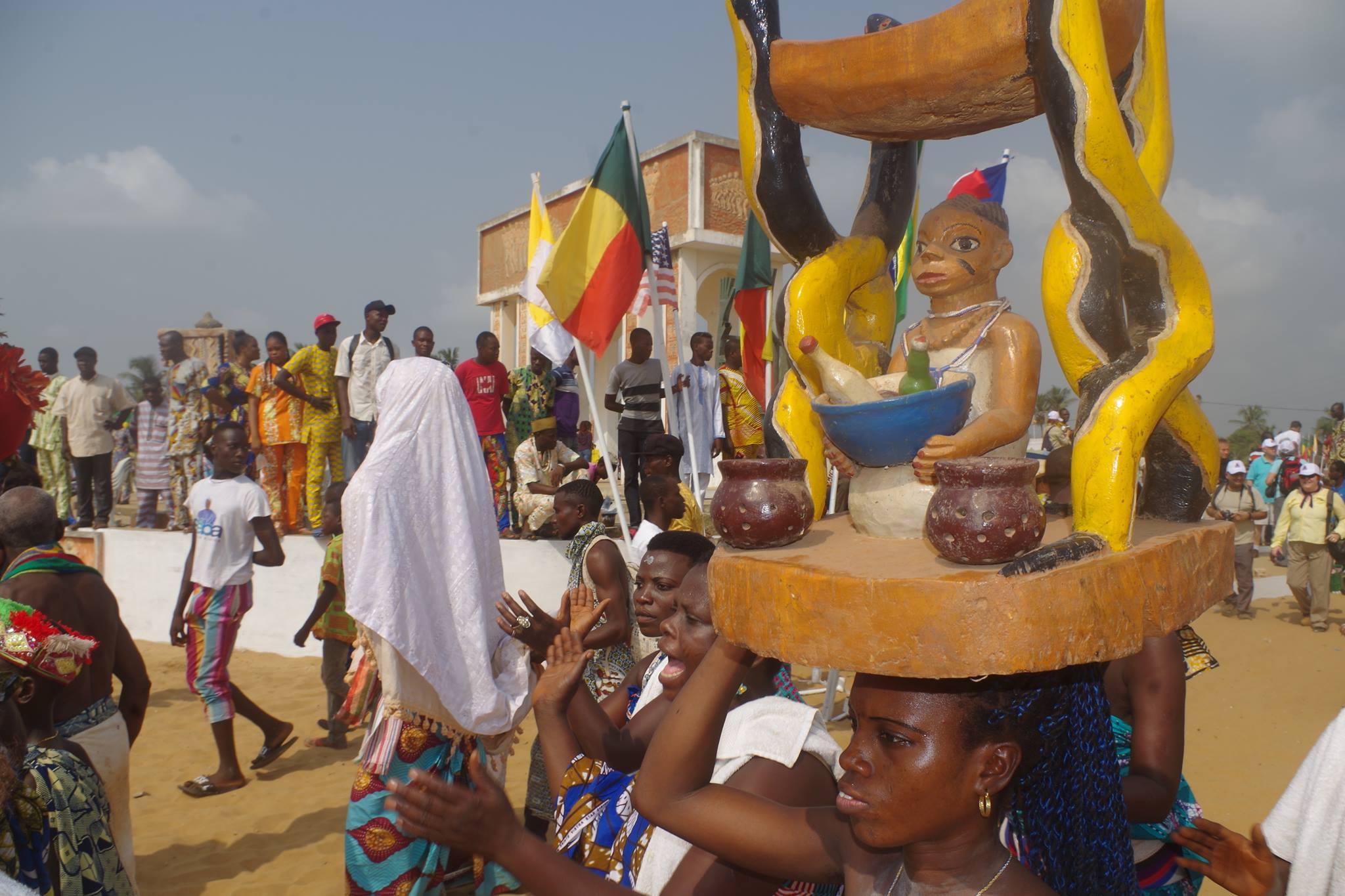 fête internationale des religions endogènes au Bénin