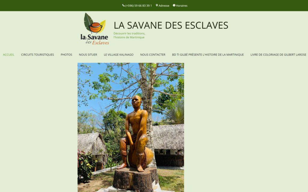 Symbole de l'amitié - La Savane des Esclaves