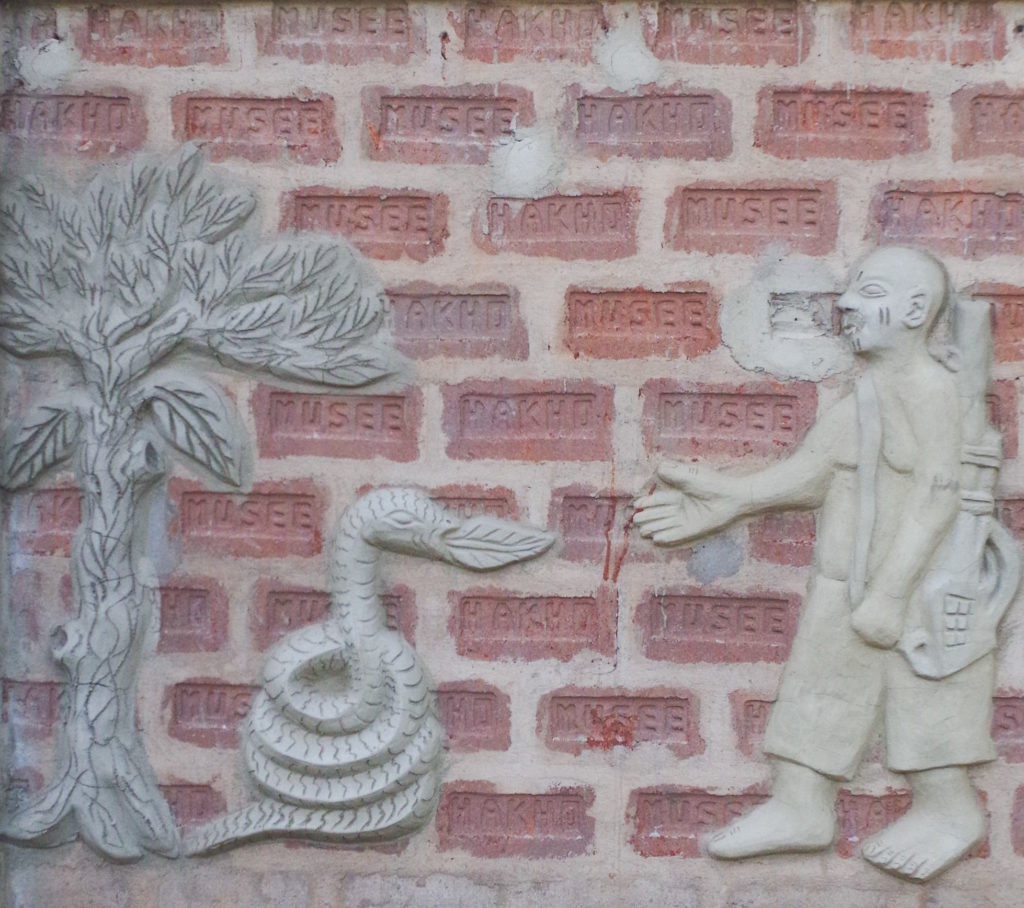 De l'art - Sculpture sur pierre