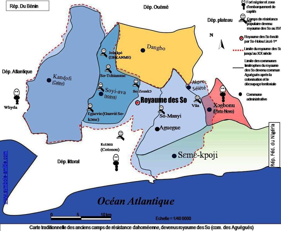 Cité lacustre, royaume de résistance à l'esclavage et à l'arrachement